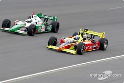Michael Andretti and Scott Sharp
