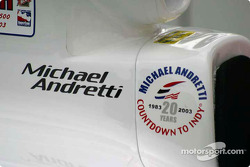 20 years at Indy for Michael Andretti