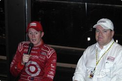 Post-race press conference: Scott Dixon and Chip Ganassi