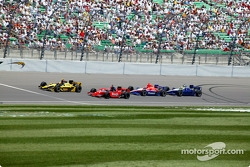 Sam Hornish Jr. leads the field