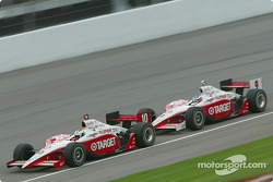 Tomas Scheckter and Scott Dixon