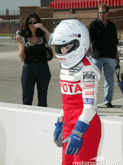Indy Experience two-seater IndyCar: Melissa Hart