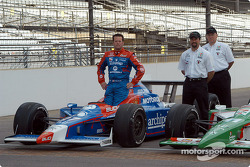 Robby Gordon, Michael Andretti and Kevin Savoree