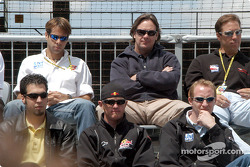 Sam Hornish Jr., Buddy Rice, Jaques Lazier, Vitor Meira, Jimmy Vasser and Richie Hearn