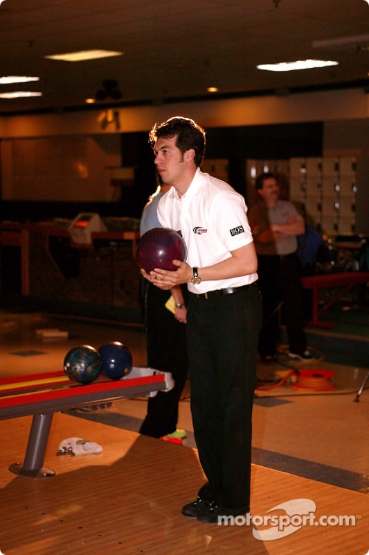 Sam Hornish Jr. au PBA Pro-Am à Indianapolis