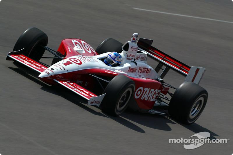 2004: Scott Dixon zum einzigen Mal mit der Startnummer 1