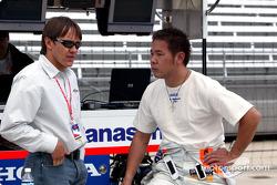 Adrian Fernandez and Kosuke Matsuura