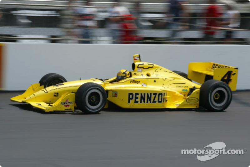 2002 IRL: Sam Hornish Jr., Panther Racing, Dallara-Chevrolet