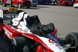 Scott Dixon's seat is ready for installation