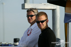 Eddie Cheever and Ed Carpenter