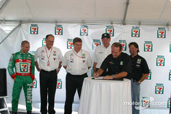Andretti Green Racing press conference
