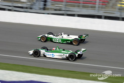 Dario Franchitti and Shinji Nakano