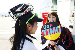 Timo Bernhard, Porsche Team, fans