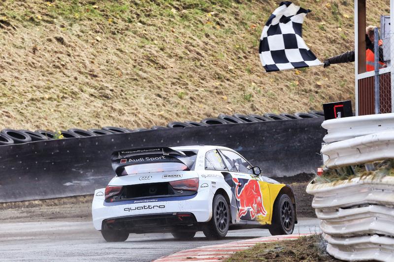 Wie won dit jaar het WK Rallycross?