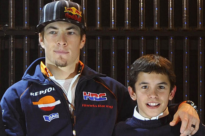 Nicky Hayden et Marc Marquez, Repsol