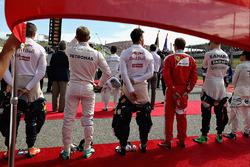 Max Verstappen, Red Bull Racing, Nico Rosberg, Mercedes AMG F1, Daniel Ricciardo, Red Bull Racing, Kimi Raikkonen, Ferrari, Nico Hulkenberg, Sahara Force India F1, Felipe Massa, Williams