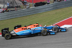 Pascal Wehrlein, Manor Racing MRT and Esteban Ocon, Manor Racing