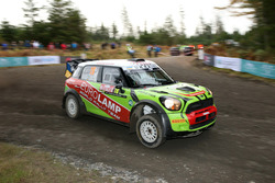 Валерий Горбань и Владимир Корся, Mini Cooper WRC, EUROLAMP WORLD RALLY TEAM