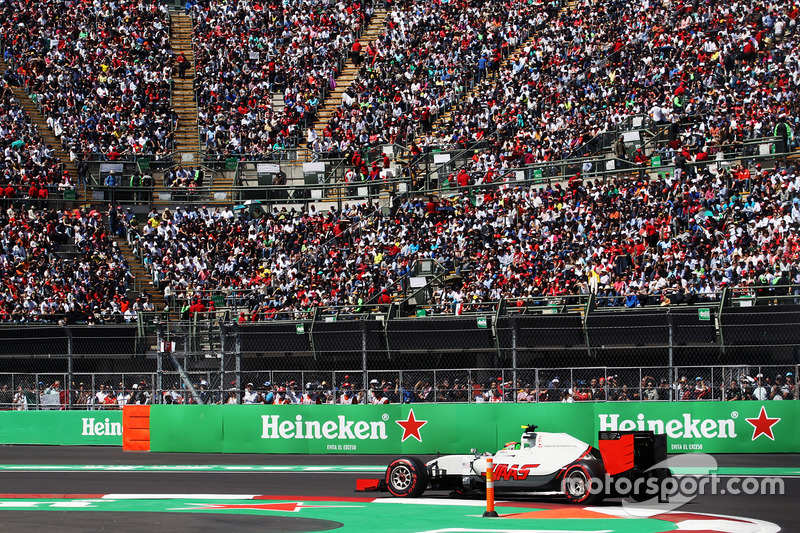 19. Esteban Gutierrez, Haas F1 Team VF-16