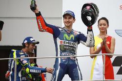 Podium: tercero, Jorge Lorenzo, Yamaha Factory Racing