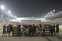 Jonathan Rea, Kawasaki Racing and Tom Sykes, Kawasaki Racing with the team