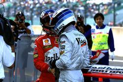 Mika Hakkinen, McLaren és Michael Schumacher, Ferrari