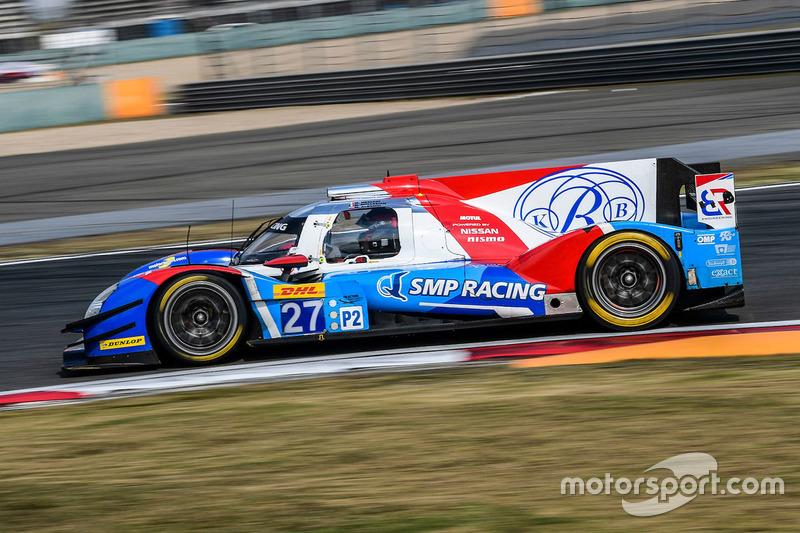 6. LMP2: #27 SMP Racing, BR01 Nissan