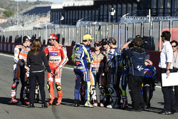 Марк Маркес, Repsol Honda Team, Андреа Янноне, Ducati Team, Валентино Россі, Yamaha Factory Racing, Дані Педроса, Repsol Honda Team, Кел Кратчлоу, Team LCR Honda, Хорхе Лоренсо, Yamaha Factory Racing