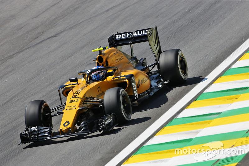 Jolyon Palmer, Renault Sport F1 Team RS16 con el Halo en su auto