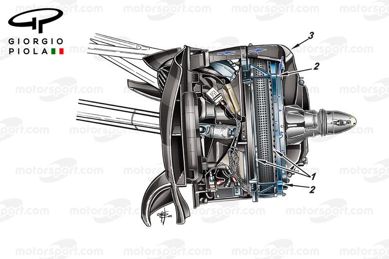 Mercedes W07 disco de freno delantero, GP México