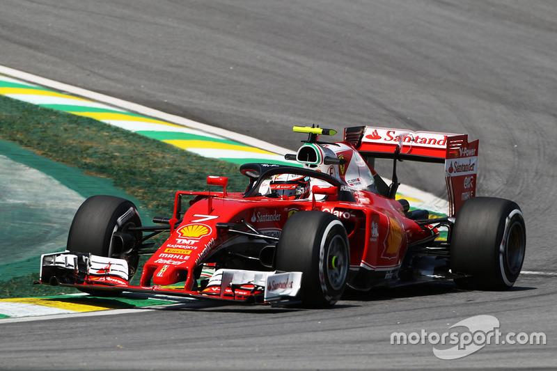 Kimi Raikkonen, Ferrari SF16-H Halo