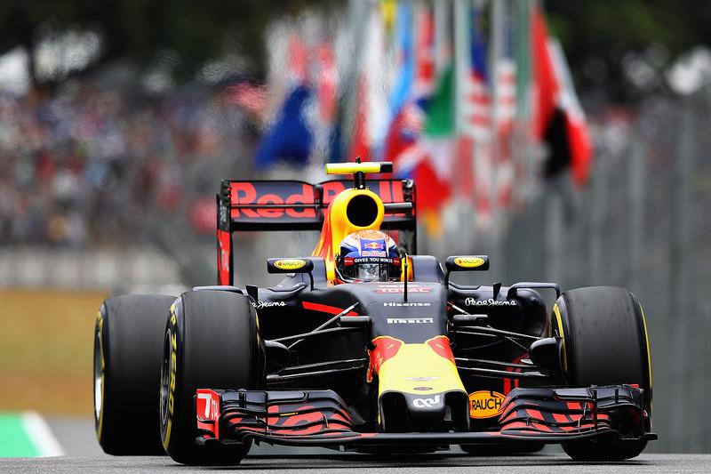 4 місце - Макс Ферстаппен, Red Bull Racing RB12