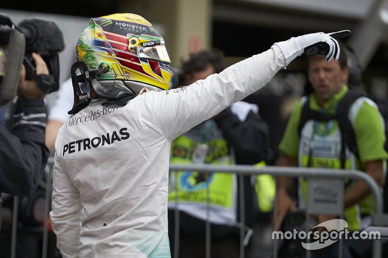 60-й поул: Льюис Хэмилтон, Гран При Бразилии, 2016 год