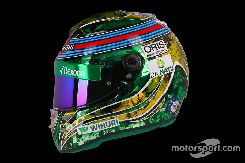 Helm van Felipe Massa, Williams