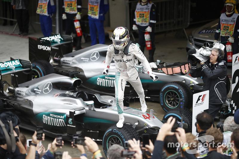 2016 Brezilya GP: Lewis Hamilton, Mercedes AMG F1