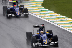 Marcus Ericsson, Sauber C35 voor teamgenoot Felipe Nasr, Sauber C35