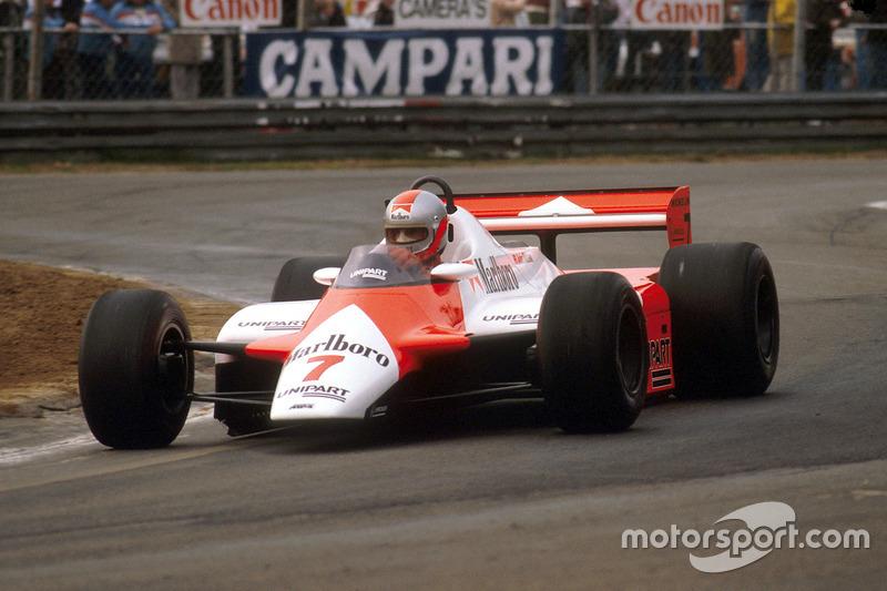 1982:  McLaren MP4/1B Ford
