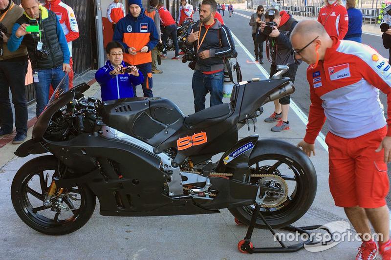 Мотоцикл Хорхе Лоренсо, Ducati Team