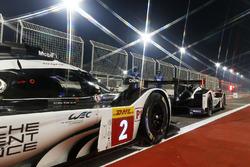 #2 Porsche Team, Porsche 919 Hybrid: Romain Dumas, Neel Jani, Marc Lieb, #1 Porsche Team, Porsche 919 Hybrid: Timo Bernhard, Mark Webber, Brendon Hartley