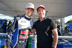 Sébastien Ogier, Volkswagen Motorsport, mit Craig Lowndes