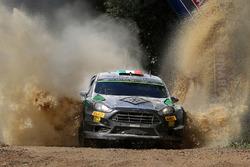 Lorenzo Bertelli, Simone Scattolin, Ford Fiesta RS WRC
