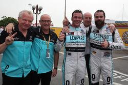 Jean-Karl Vernay, Leopard Racing, Volkswagen Golf GTI TCR und Stefano Comini, Leopard Racing Team, Volkswagen Golf GTI