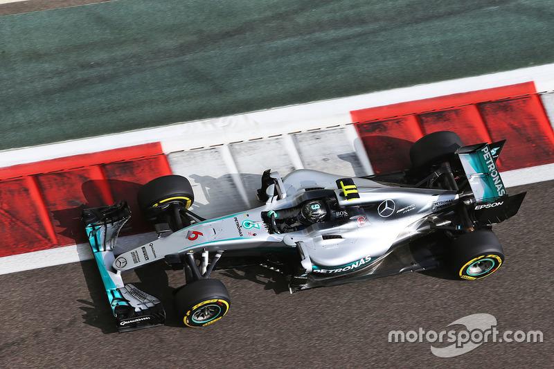 2016: Mercedes AMG F1 W07
