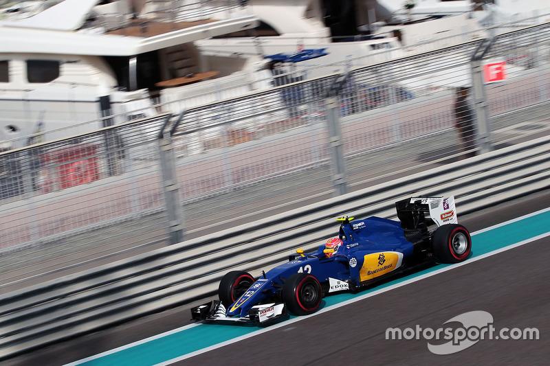 Sem Manor  ou Sauber chegando entre os dez primeiros em Abu Dhabi, os dois pontos de Felipe Nasr, conquistados no GP do Brasil, foram necessários para a escuderia suíça garantir a décima posição e alguns milhões de dólares a mais na conta.