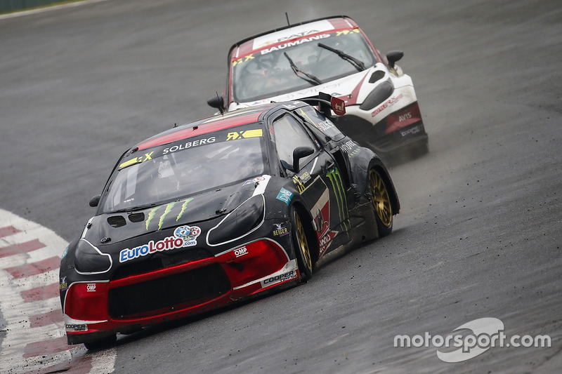 Petter Solberg, PSRX Team, Janis Baumanis, World RX Team Austria