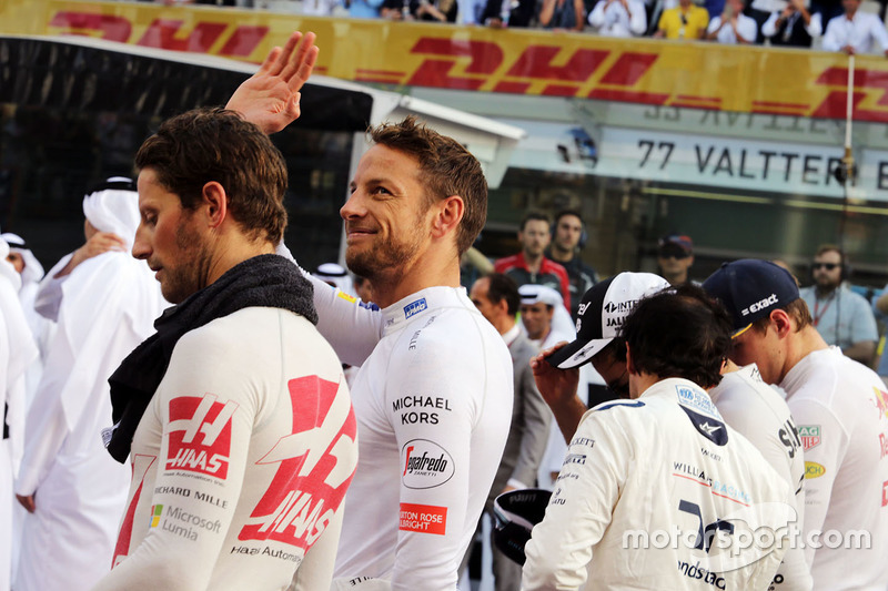 Jenson Button, se despide de la parrilla de F1