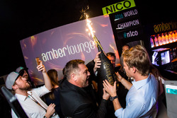 Nico Rosberg, Mercedes AMG F1 celebrates his World Championship title