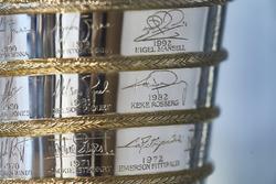Detail: Trophäe für die Fahrerweltmeisterschaft der Formel 1