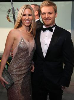 Чемпион Формулы 1 Нико Росберг и его жена Вивиан Росберг