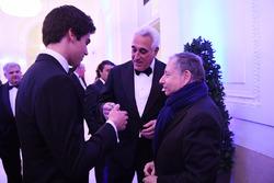 Lance Stroll, Lawrence Stroll, Presidente de FIA Jean Todt